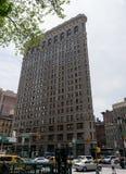 budynku miasta mieszkania żelazo nowy York Zdjęcie Stock