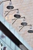 budynku miasta składu lampa zdjęcie royalty free