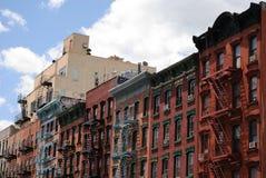budynku miasto nowy York Zdjęcie Royalty Free