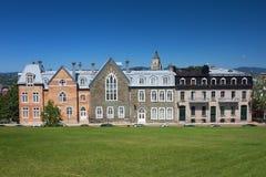 budynku miasto stary Quebec Obrazy Royalty Free