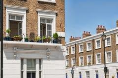 budynku mieszkaniowy London luksus obraz royalty free