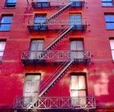 budynku mieszkaniowy miasto nowy York Obrazy Royalty Free