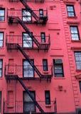 budynku mieszkaniowy miasto nowy York Fotografia Stock