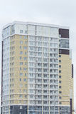 budynku mieszkaniowy nowy nowożytny Multistoried, nowożytny, nowy i elegancki żywy blok mieszkalny mieszkań nieruchomości domów p Zdjęcie Royalty Free