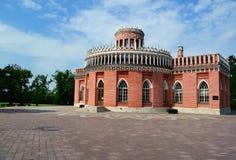 budynku Moscow tsaritsino zdjęcia royalty free