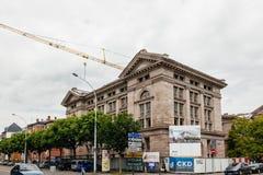 Budynku odświeżania proces archiwa Departamentales real Zdjęcie Stock