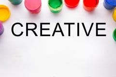 budynku pojęcia twórczości ręki lego izolować izoluje kolorowe znaka i farby puszki Fotografia Royalty Free