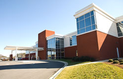 budynku powierzchowności szpital zdjęcia stock