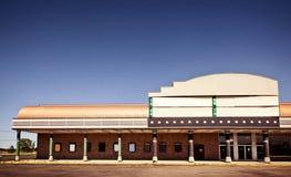 budynku powierzchowności kino Obrazy Royalty Free