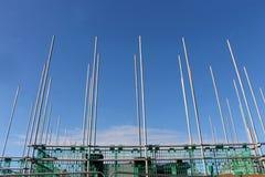 budynku rusztowania miejsce Obraz Stock