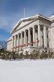 budynku skarba zima Fotografia Royalty Free