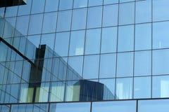 budynku szklana biura ściana Zdjęcie Stock