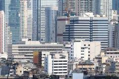 Budynku tło Bangkok metropolia Tajlandia fotografia royalty free