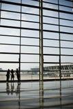 budynku terminalu portów lotniczych Zdjęcia Stock