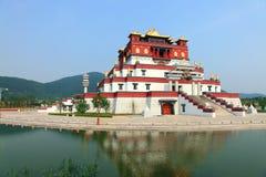 budynku tibetan Fotografia Royalty Free