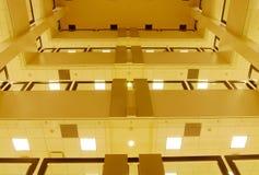 budynku widok wewnętrzny uniwersytecki obrazy stock