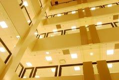 budynku widok wewnętrzny uniwersytecki zdjęcie royalty free