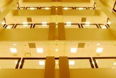budynku widok wewnętrzny uniwersytecki obrazy royalty free