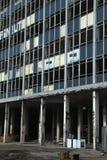 budynku wykolejeniec Obraz Royalty Free