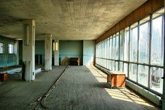 budynku zaniechany pojęcie Zdjęcie Royalty Free