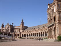 budynku zarząd miasta Sevilla Zdjęcie Royalty Free