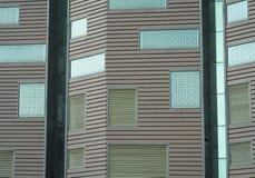 budynku zewnętrzna austerii tekstur ściana Zdjęcia Stock