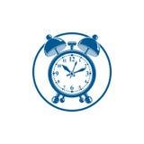 Budzika 3d symbol dla use w graficznym projekcie, dobrze Dzwoni royalty ilustracja