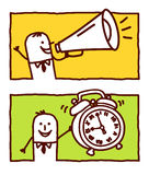 budzika loudhailer ilustracji