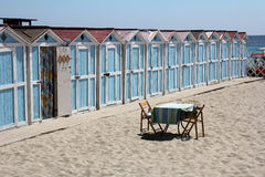 Bue Cabins Stock Photography