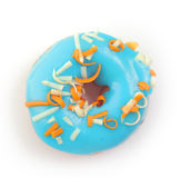 Bue donut Royalty Free Stock Image