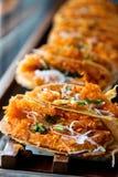 Bueang Khanom, вид тайского sweetmeat. Стоковая Фотография