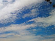 Beautiful nature. Clouds and sky, good day, fresh air, refreshing natural, happy nice life, pure, morning fresh Royalty Free Stock Photo