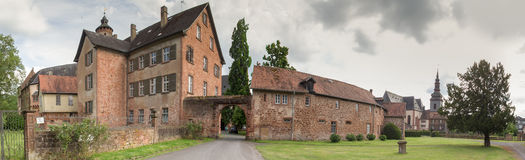 Buedigen castle germany high defintion panorama Royalty Free Stock Photos