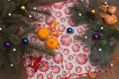 Buen alcohol del Año Nuevo Imagen de archivo libre de regalías
