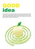 Buen concepto de las ideas Ilustración del vector Foto de archivo libre de regalías