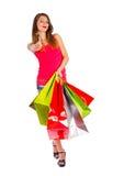 Buen día para hacer compras Imagen de archivo