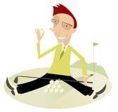 Buen día para jugar a golf Imagen de archivo