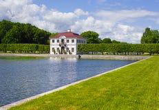 buen De retiro domowego jeziornego parkowego Glorieta Madrid Sevilla Spain Fotografia Royalty Free