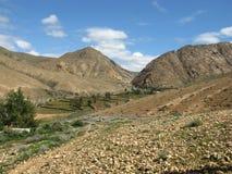 Buen Paso valley on Fuerteventura Stock Image