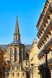 Buen Pastor Cathedral av San Sebastian Gipuzkoa baskiskt land, Spanien Arkivbild