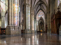 Buen pastor Cathedral. San Sebastian, Gipuzkoa, Basque Country, Spain. Royalty Free Stock Images