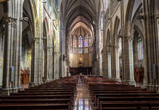 Buen pastor Cathedral. San Sebastian, Gipuzkoa, Basque Country, Spain. Stock Image