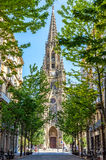 Buen pastor Cathedral. San Sebastian, Gipuzkoa, Basque Country, Spain. Stock Photography