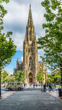 Buen pastor Cathedral. San Sebastian, Gipuzkoa, Basque Country, Spain. Royalty Free Stock Photos