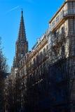 Buen pastora katedra San Sebastian Gipuzkoa, Baskijski kraj, Hiszpania Zdjęcia Stock