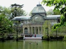 Buen Retiro公园,其中一个马德里市最大的公园,西班牙 免版税库存照片