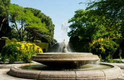 Buen Retiro Park Stock Photos