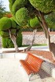 Buen Retiro park Stock Image