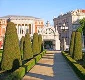 Buen-Retiro park, Madrid Royalty Free Stock Photography