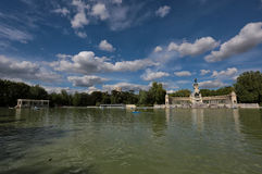 Buen Retiro Park in Madrid Lizenzfreies Stockfoto